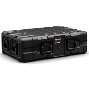 Pelican-Hardigg™ BB0030 BlackBox 3U Rack Mount Case