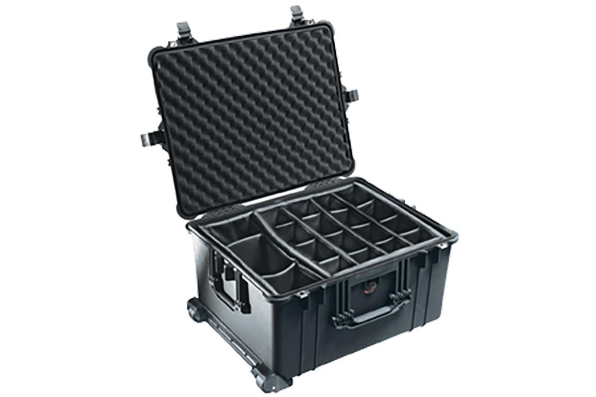 Black 1620 Case with foam insert