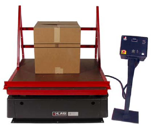 Large Package Scale used to ensure an optimal packaging design